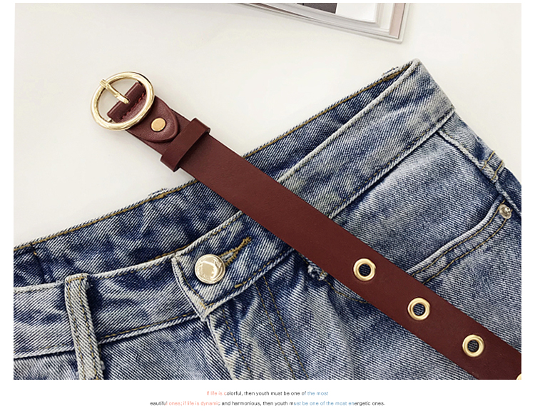 H69c07b2bd12f49548edc38fc957bc840u - NO.ONEPAUL Genuine leather women belt high quality fashion casual alloy round buckle with ladies trend jeans the women for belt