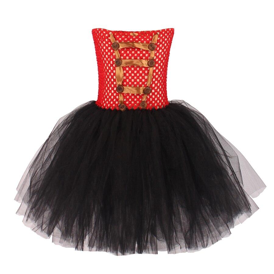 Girls Ringmaster Costume Circus Nutcracker Fancy Tutu Dress Kids Tulle Birthday Party Dress Girl Halloween Dress Up Clothes (11)