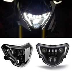 New Generation LED Headlights For BMW G310GS G310R G 310 GS R 310GS Motorcycles Lights with Complete Devil eyes Assembly Kit