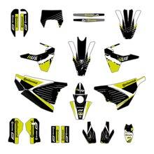 Tam çıkartma grafik etiket Dekor Deco Husqvarna 701 SM Supermoto 2015 2016 2017 2018 2019 2020
