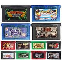 32 비트 비디오 게임 카트리지 콘솔 카드 Magical English Language Nintendo GBA 용 미국 버전
