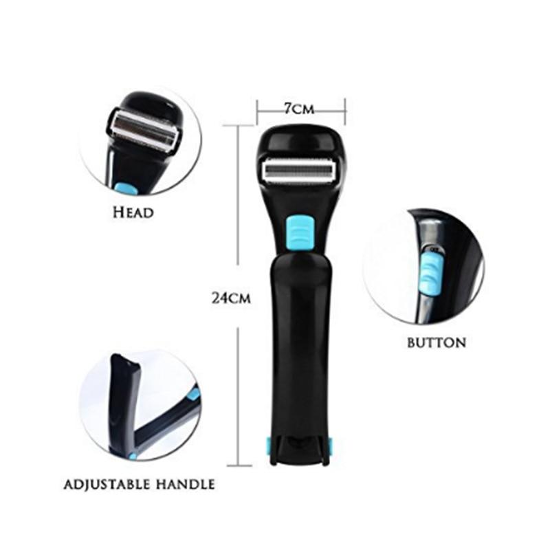 Máquina de barbear de cabelo elétrica dobrável
