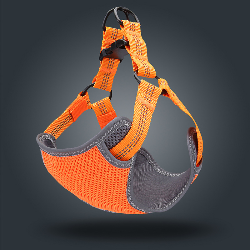 2020 New Style Lanyard Middle And Large-Dog Dog Vest Chest And Back Method Dogfighting With Ke Unscalable Suspender Strap