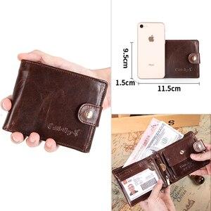 Image 4 - Cobbler legend Genuine Leather Wallet Men Bifold Business Vintage  2020 New Coin Pocket Designer Brand High Quality Short Purses