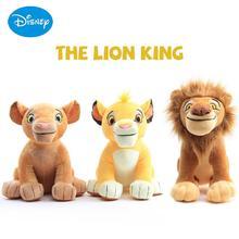 Disney król lew wypchane pluszowe zabawki kreatywny Simba Nala Mufasa dzieci miękkie kreskówka zwierzęta lalki prezent zabawka dla dzieci dziewczyny tanie tanio Krótki pluszowe CN (pochodzenie) Keep away from fire Pp bawełna 2-4 lat 5-7 lat 8-11 lat 12-15 lat Dorośli 26-28CM Unisex