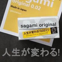 Feito no japão sagami original tamanho grande preservativos não-látex 002 ultra fino grande preservativo sexo brinquedos para homem happiness 001