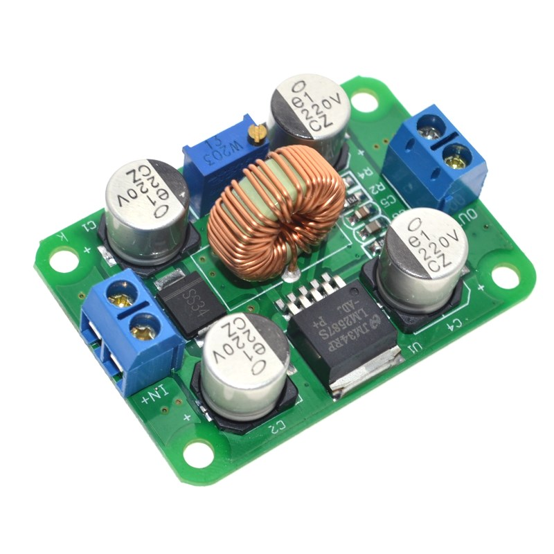LM2587 DC-DC Power Modules Boost Module Over Lm2577 (Peak 5A) DC Step-Up Converter Module