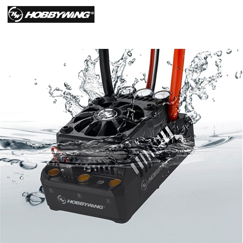 100%   Hobbywing EzRun Max5 V3 200A rc car ESC Speed Controller Waterproof Brushless ESC for 1/5 RC Car
