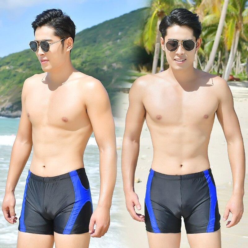 MEN'S Swimming Trunks Boxer Fashion Short Profession Quick-Dry Beach Hot Springs Pants Adult Bathing Suit Swim Swimming Trunks