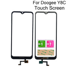 6.1'' Touch Screen Glass For Doogee Y8C Front Glass Panel Touch Screen Sensor TouchScreen Tools 3M Glue Adhesive