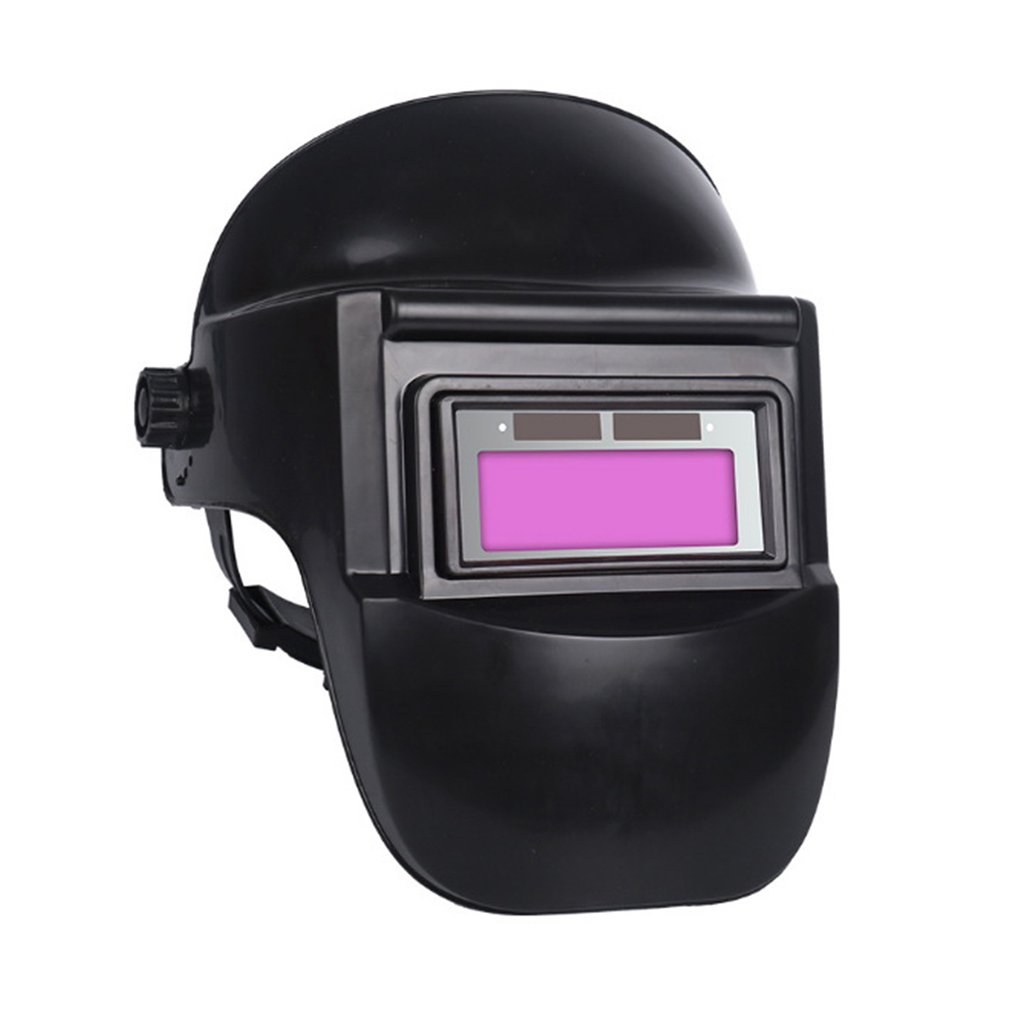 BK Welding Mask Automatic Dimming Glasses Anti-baked Face Half Helmet Head-mounted Full Face Protection Mask Welder Special