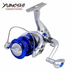 YUMOSHI Fishing Reel Spinning Reel Plastic Spool Left Right Interchangeable Handle 1000 -7000 Series