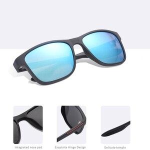 Image 5 - AOFLY DESIGN Ultraleicht TR90 Polarisierte Sonnenbrille Männer Mode Männlichen Sonne Gläser Für Fahren Platz Brillen zonnebril heren UV400
