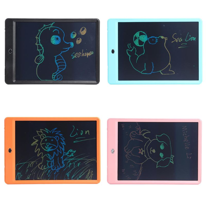 10 Inch LCD Writing Board Doodling Handwriting Drawing Board Tablet Stylus Pen
