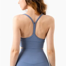 Sexy Sports Vest Top Tights Fitness Sports Bra Women Female Cross Nude Crop Push Up Brassiere Corset Gym Clothing  Sling Skims