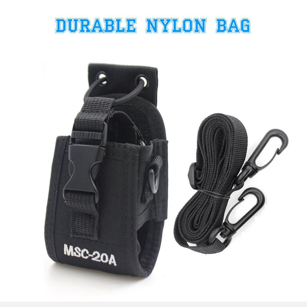 Radio Case Holder MSC-20A MSC-20B MSC-20C MSC-20D MSC-20E Nylon Carry Case For Baofeng UV-5R UV-82 UV-888S UV-9R Walkie Talkie