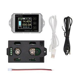 Ват1200 100 в 200A LCD Цифровой Беспроводной DC напряжение тока VA метр автомобильный аккумулятор монитор кулоновый счетчик ватт