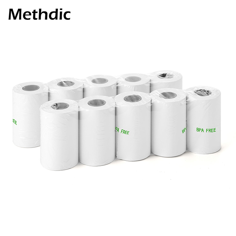 5rolls Thermal Paper 57x30mm Cash Register Paper Roll Thermal Roll Paper Printer Thermal Paper