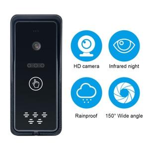 Image 3 - โทรศัพท์ประตูแบบมีสาย 7 สี LCD กันน้ำกล้อง IR Night Vision ระบบอินเตอร์คอม