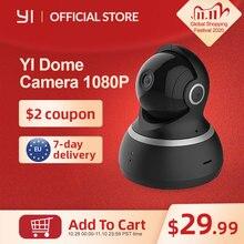 Yi Dome Camera 1080P Pan/Tilt/Zoom Wireless Ip Security Surveillance Systeem Compleet 360 Graden Dekking Night vision
