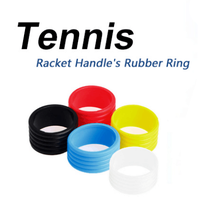 Rubber Tennisracket Handvat Rubber Ring Stretchy Tennis Racket Handvat Rubber Ring Tennis Racquet Band Overgrips, Ring(China)