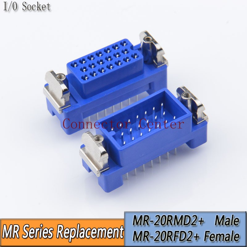 MR Series Of Connectors 20Pin PCB Male Compatible With MR-20RMD2 MR-20RFD2