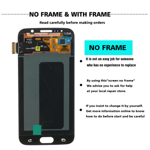 Image 2 - Original 5.1 สำหรับSamsung Galaxy S6 G920 G920i G920F G920W8 LCD Super AMOLEDเปลี่ยนDigitizer