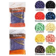 Paper-Free Hair Removal Wax Solid Bean Bee Treatment Grain 100G/1000G Bag Package Hard Beans 100g