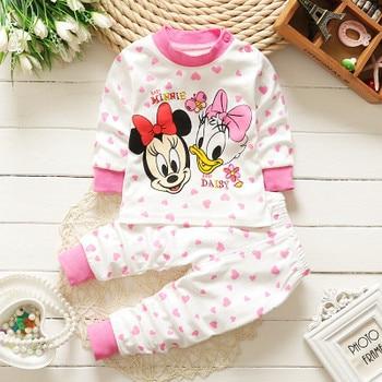 0-2year Baby Clothes Set Winter Cotton Newborn Baby Boys Girls Clothes 2PCS   Baby Pajamas Unisex Kids Clothing Sets - -V17-, 3M