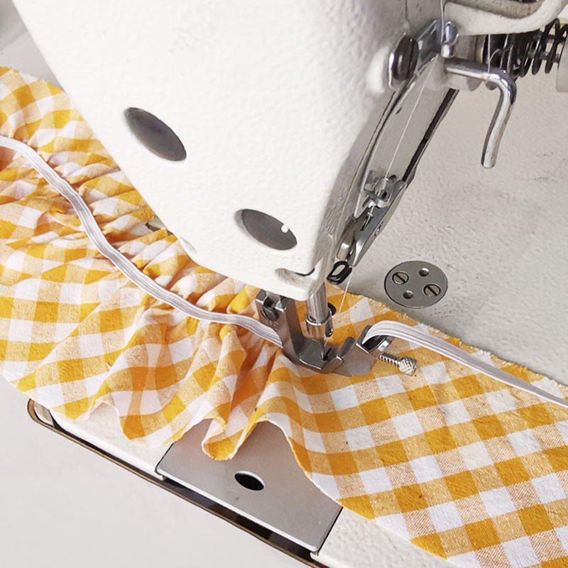 1pc Elastic Shirring Presser Foot,S537,Industrial Computerized Lockstitch Sewing Machine Parts
