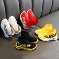 Удобные детские дышащие носки; обувь для мальчиков и девочек; модная повседневная обувь; тканые сетчатые кроссовки; детская обувь