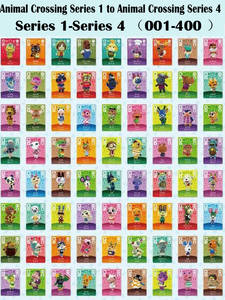 Series 1 to Series 4 (001 to 400) Animal Crossing Card Amiibo locks nfc Card Work for NS Games (001 to 400)free to choose