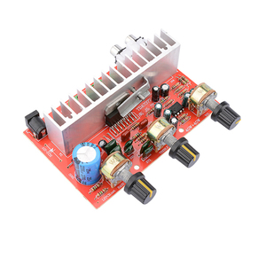 Image 4 - لوسيا TDA7377 مضخم الصوت الرقمي مجلس 40 واط + 40 واط ستيريو 2.0 قناة الطاقة مكبر للصوت للسيارة لتقوم بها بنفسك المتكلم DC12V E5 005