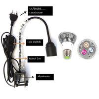 NEW sell like hot cakes LED aquarium lighting fish tank lamp lights fixtures LED clamp lamp clip spot b