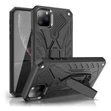 Anti-knock Armor Case for iPhone 11 Pro Max 5 5S SE 6 6S 7 8 Plus X XS Max XR Full-body Protective Stand Shockproof Back Cover цена