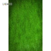 Laeacco 녹색 잔디 단풍 사진 배경 열대 정글 파티 사진 배경 아기 생일 Photophone 소품