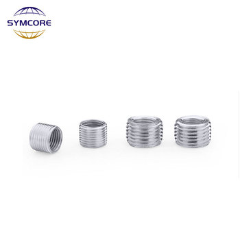 5pieces M6-M8,M4 M6 to M10, M8 M10 M12/M14  inner outer threaded hollow tube coupler conveyer Sliver adapter screw