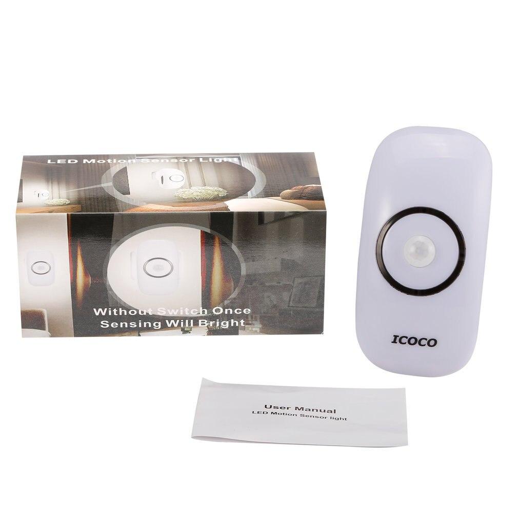 Durable 18Pcs LED Long Life Weather Resistant Light Sensor Auto Shut-off Security Night Light LED Motion Sensor Light