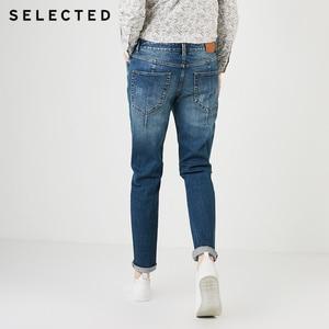Image 3 - Lycra verão masculino selecionado mistura denim calças desbotamento apertado perna jeans c