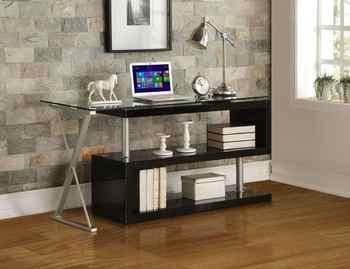 L Style Desk Office Desk Computer Table Book Shelf Modern PC Table Home Furniture Style Desk