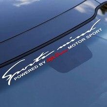 Pegatina de vinilo para parabrisas delantero y trasero de coche, accesorios para Alfa Romeo 159 147 Giulietta Stelvio MITO 156 Giulia Sportiva