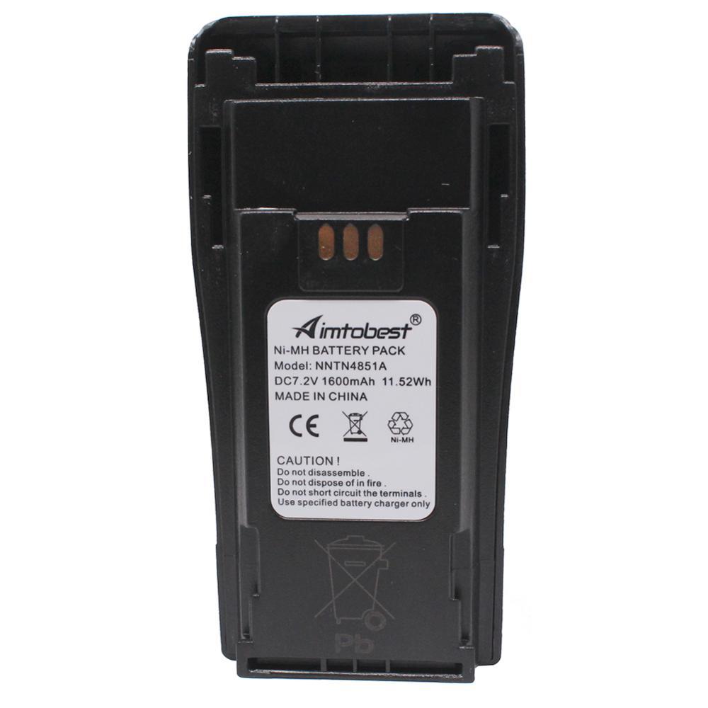 NNTN4851 NNTN4851AR Ni-MH Battery 1600mAh For CP040 CP140 CP150 CP160 CP180 CP200 CP200XLS CP340 CP360 CP380 EP450 GP3688 PR400