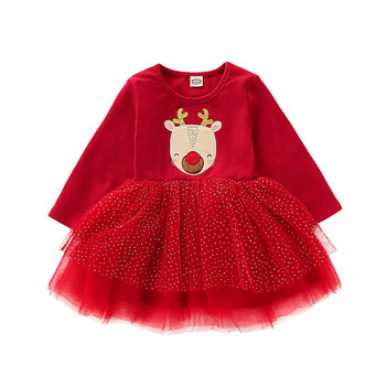 Vikita Kids Dress 2018 Flower Print Baby Girls Ropa Infantil