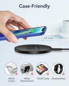 Image 5 - ESR Wireless Charger สำหรับ iPhone 12 /12 Pro/12 Pro Max/12 Mini 15W PD Fast ไร้สายชาร์จ Pad สำหรับ Airpods Pro Samsung Huawei