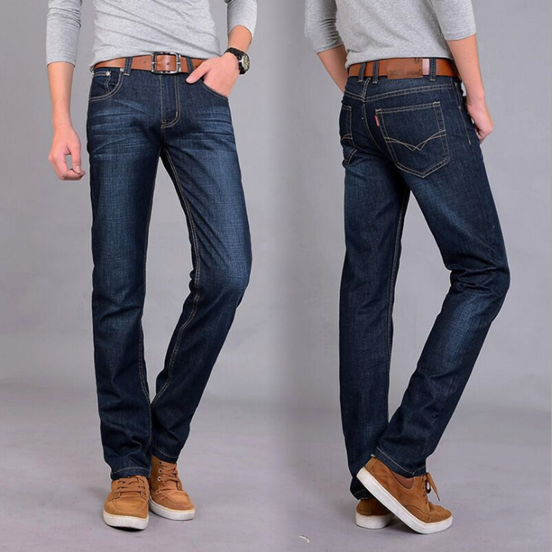 MEN'S Jeans New Style 2018 Autumn And Winter Youth Plus-sized Korean-style Versatile Fashion Loose And Plus-sized Jeans Men's