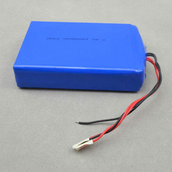7.4v 10000mah li-ion polymer battery lipo 10000 mah 1160110-2p rechargeable battery 10000mah