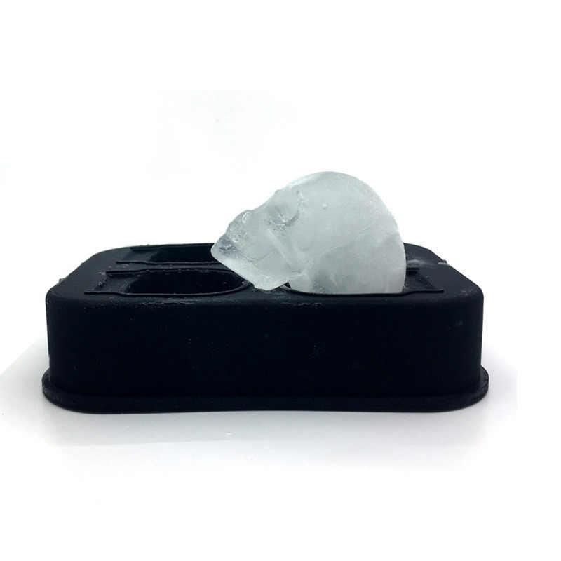Ice Cube Maker Fach 3D Schädel Silikon Form Diamant DIY Eismaschine Haushalt Verwenden Cocktails Silikon Für Whisky Werkzeug