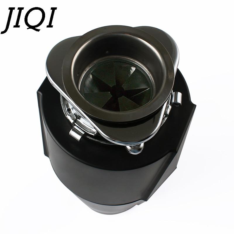 JIQI измельчитель пищевых отходов с дистанционным управлением, кухонный измельчитель мусора, измельчитель для удаления остатков, лезвие из нержавеющей стали, ЕС 6