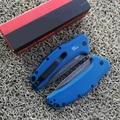 Складной нож Kersh OEM c07 1776, лезвие 440C, алюминиевая ручка, карманные ножи для кемпинга и выживания, ручные инструменты для повседневного использ...