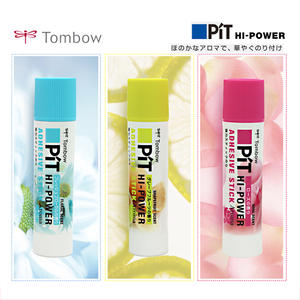 School-Supplies Glue Adhesives Coloured TOMBOW Hand-Work DIY 1PC Solid Fragrance Fruit-Flavor